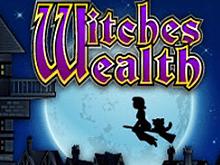 Играть с бонусом в автомат Witches Wealth в онлайн-казино